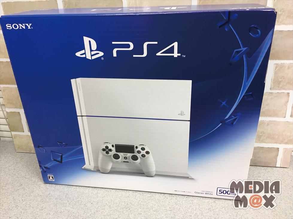 買取した、PlayStation4 500GB グレイシャーホワイト