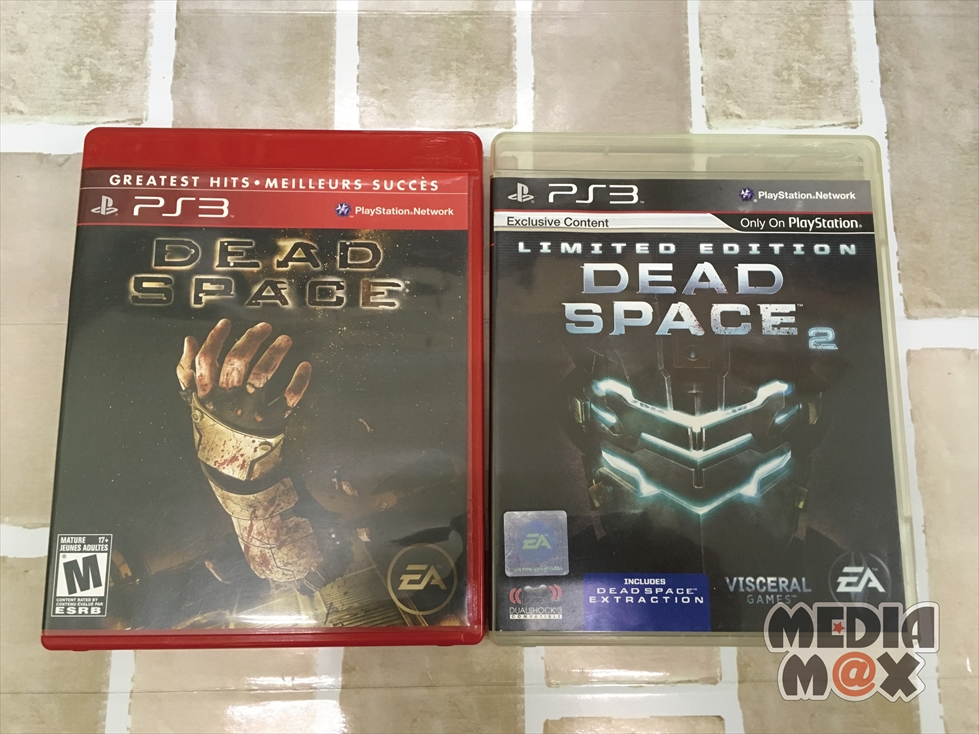 買取した、PS3ソフト デッドスペースとデッドスペース2