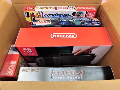 大阪府から宅配買取したゲーム