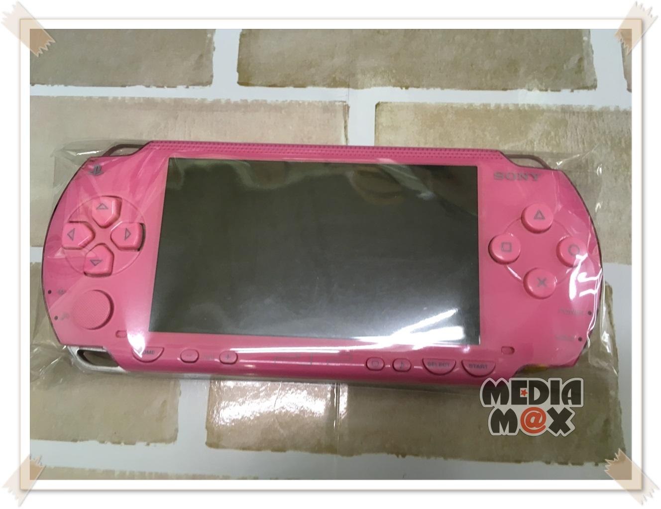 買取した、PSP-1000 ピンク