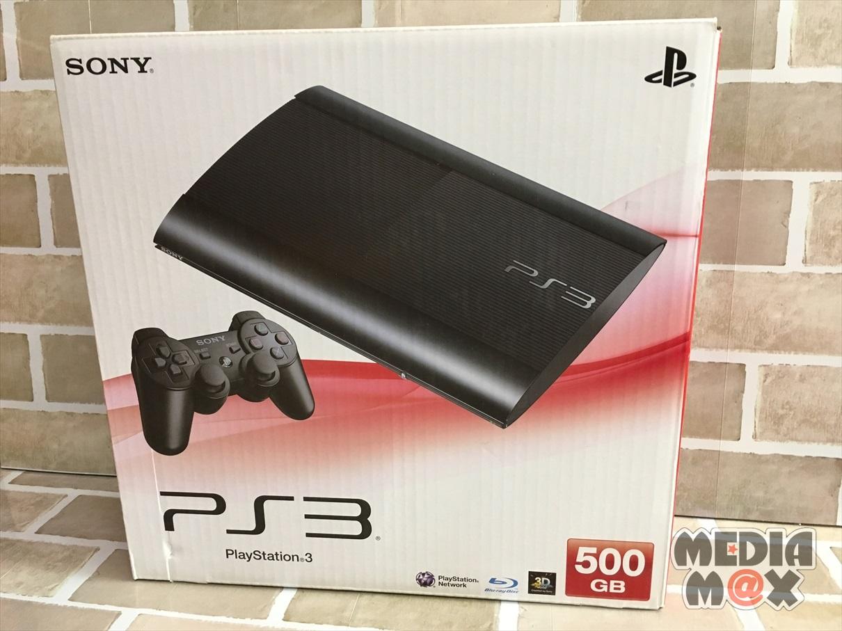 買取した、PS3 500GB