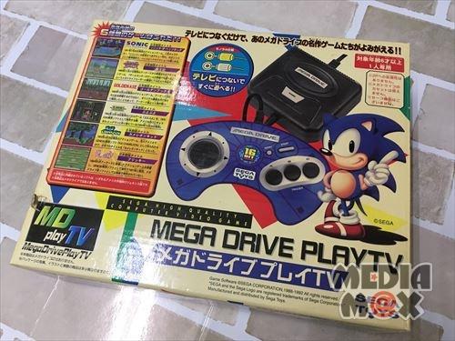 買取した、メガドライブプレイTV