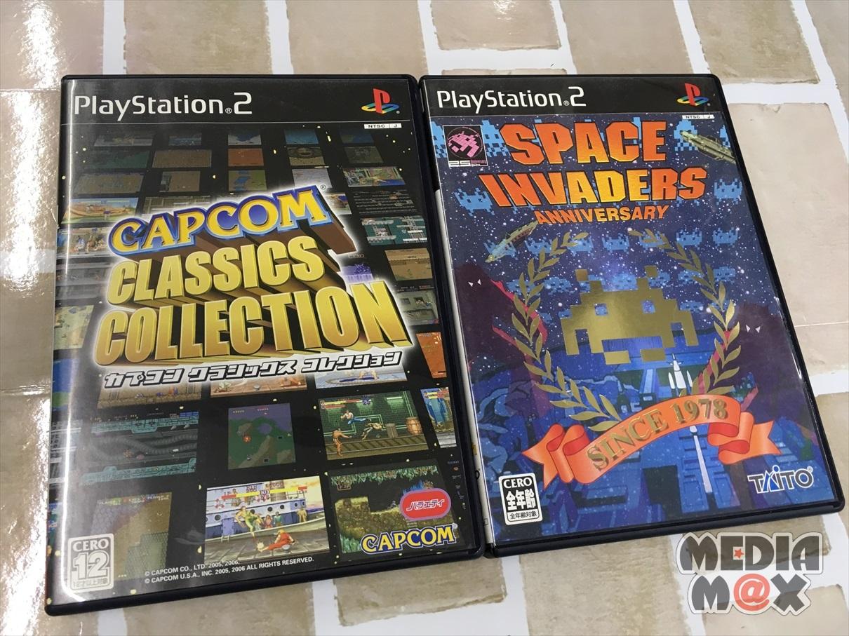 買取した、PS2ソフト数点